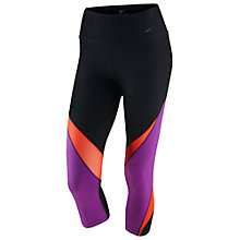 Buy Nike Legendary Fabric Twist Training Tights, Black/Multi Online at johnlewis.com