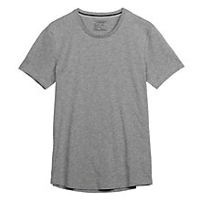 Buy J. Lindeberg Axtell Basic T-Shirt, Grey Melange Online at johnlewis.com