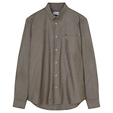 Buy Jigsaw Cotton Poplin Hidden Button Collar Shirt Online at johnlewis.com