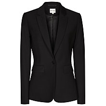 Buy Reiss Elia Jacket, Black Online at johnlewis.com