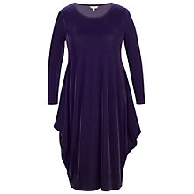 Buy Chesca Velvet Drape Dress Online at johnlewis.com