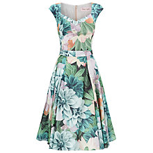 Buy Phase Eight Eden Printed Dress, Multi Online at johnlewis.com