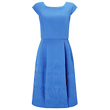 Buy Phase Eight Trixie Jacquard Dress, Kos Blue Online at johnlewis.com