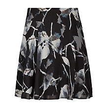 Buy Reiss Jontel Printed Short Skirt, Midnight Online at johnlewis.com