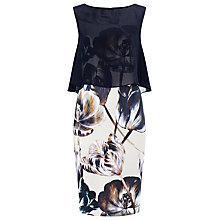 Buy Phase Eight Keira Layered Floral Dress, Multi Online at johnlewis.com