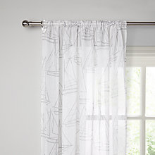 Buy John Lewis Sailing Slot Headed Voile Panel Online at johnlewis.com