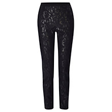 Buy Coast Harley Lace Trousers, Black Online at johnlewis.com