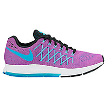 Buy Nike Air Zoom Pegasus 32 Women's Running Shoes, Hyper Violet/Gamma Blue Online at johnlewis.com
