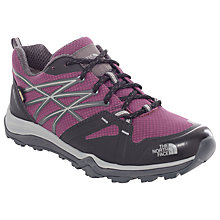 Buy The North Face Hedgehog Fastpack Lite GTX Women's Walking Shoes, Purple/Black Online at johnlewis.com
