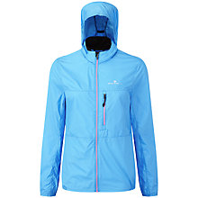 Buy Ronhill Trail Quantum Running Jacket, Sky Blue/Rose Online at johnlewis.com