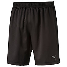 "Buy Puma 7"" Running Shorts, Black Online at johnlewis.com"