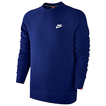 Buy Nike AW77 French Terry Sweatshirt Online at johnlewis.com