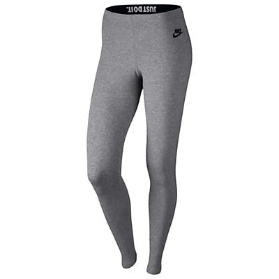 Nike Leg-A-See Tights, Carbon Heather/Black