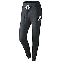 Buy Nike Gym Vintage Training Trousers, Anthracite/Sail Online at johnlewis.com