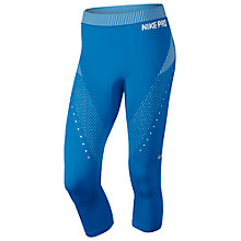 Buy Nike Pro Hypercool Capri Women's Running Tights Online at johnlewis.com