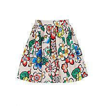Buy John Lewis Girls' Floral Print Skirt, Multi Online at johnlewis.com