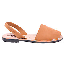 Buy Solillas Original Two Part Sandals, Tan Online at johnlewis.com