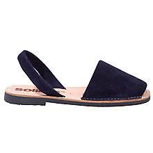 Buy Solillas Original Two Part Sandals, Navy Online at johnlewis.com