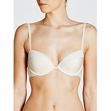 Buy Calvin Klein Underwear Signature Flirty Push Up Bra Online at johnlewis.com