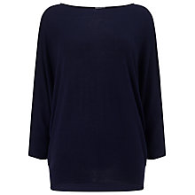 Buy Phase Eight Becca Batwing Jumper, Navy Online at johnlewis.com