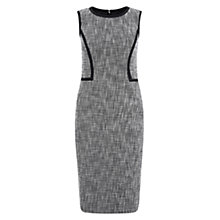 Buy Hobbs Jamila Dress, Black/Ivory Online at johnlewis.com