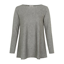 Buy Hobbs Roisin Jumper, Grey Melange Online at johnlewis.com