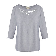 Buy Celuu Clara Top, Grey Online at johnlewis.com