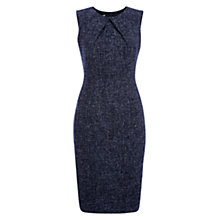 Buy Hobbs Cornelia Dress, Navy/Ivory Online at johnlewis.com