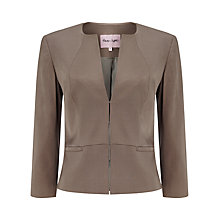 Buy Phase Eight Hattie Jacket, Praline Online at johnlewis.com