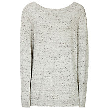 Buy Reiss Hester V Back Jumper, Mint Chocolate Online at johnlewis.com