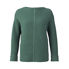 Buy Jigsaw Horizontal Rib Tunic Jumper Online at johnlewis.com