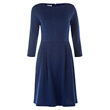 Buy Hobbs Navine Dress, Cobalt Navy Online at johnlewis.com