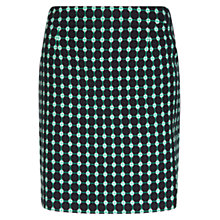 Buy Hobbs Tillie Skirt, Green Online at johnlewis.com