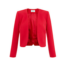 Buy Hobbs Cybil Jacket, Poppy Red Online at johnlewis.com