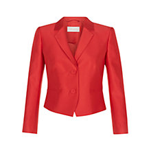 Buy Hobbs Trudy Jacket, Poppy Red Online at johnlewis.com