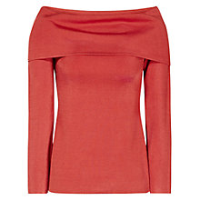 Buy Reiss Lita Off The Shoulder Top, Paprika Online at johnlewis.com