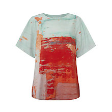 Buy Kin by John Lewis Limited Edition Abstract Print T-Shirt, Multi Online at johnlewis.com