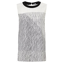 Buy Kin by John Lewis Limited Edition Double Layer Georgette Top, Multi Online at johnlewis.com