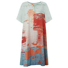 Buy Kin by John Lewis Limited Edition Abstract Print Poplin Dress, Multi Online at johnlewis.com
