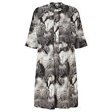 Buy Kin by John Lewis Mineral Print Oversized Dress, Black/White Online at johnlewis.com