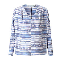 Buy John Lewis Capsule Collection Jade Ocean Jersey Top, Navy Online at johnlewis.com