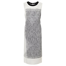 Buy Kin by John Lewis Limited Edition Double Layered Georgette Dress, Multi Online at johnlewis.com
