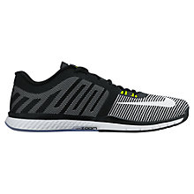 Buy Nike Zoom Speed 3 Men's Cross Trainers, Black/White Online at johnlewis.com