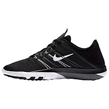 Buy Nike Free TR 6 Women's Cross Trainers, Black/White Online at johnlewis.com