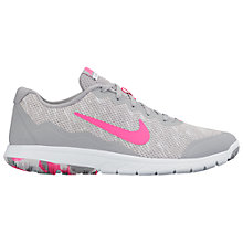 Buy Nike Flex Experience Run 4 Premium Women's Running Shoes, Grey/Pink Online at johnlewis.com