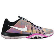 Buy Nike Free 6 Print Women's Cross Trainers, Multi Online at johnlewis.com