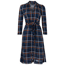 Buy French Connection Multi Clarence Check Dress, Nocturnal Online at johnlewis.com