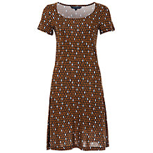 Buy French Connection Diamond Print Dress, Multi Online at johnlewis.com