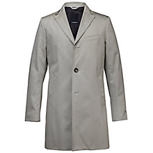 Buy J. Lindeberg Wolger Summer Twill Cotton Trench Coat, Beige Online at johnlewis.com