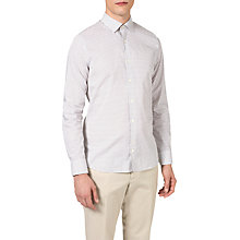 Buy J. Lindeberg Dani Floral Print Shirt, White Online at johnlewis.com